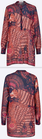 'Fantaisie' Animals Lion Blouse | DESIGNER INSPIRED FASHIONS