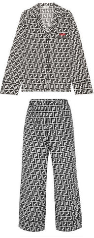 FF Logo Pajama Top and Pant Set