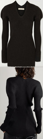 Ribbed Wool Sweater | DESIGNER INSPIRED FASHIONS