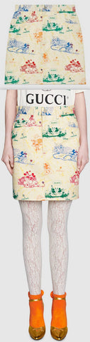 'Disney x' Cotton Drill Skirt