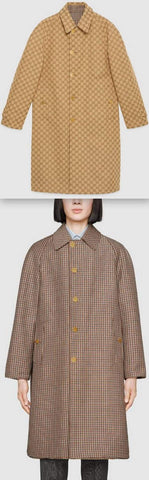 GG Reversible Wool Coat | DESIGNER INSPIRED FASHIONS