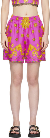 'Barocco' Star Shorts