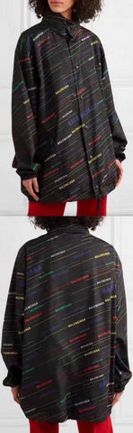 Printed Shell Rain Coat | DESIGNER INSPIRED FASHIONS