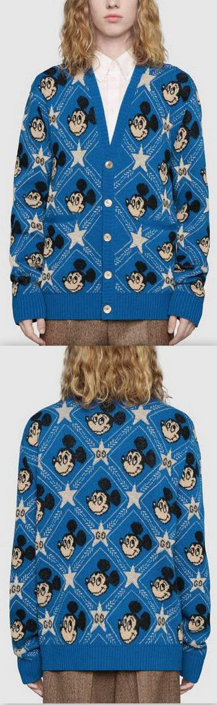 Disney X Wool Cardigan | DESIGNER INSPIRED FASHIONS