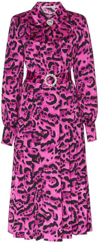 Belted Leopard Printed Dress | DESIGNER INSPIRED FASHIONS