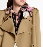 Double-Breasted Trench Coat | DESIGNER INSPIRED FASHIONS