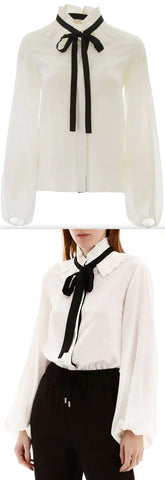 High-Neck Shirt | DESIGNER INSPIRED FASHIONS