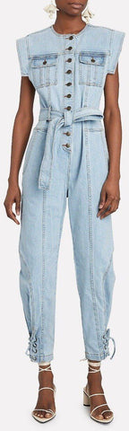 'Adair' Denim Jumpsuit