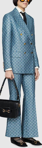 GG Lamé Jacket and Pant Suit