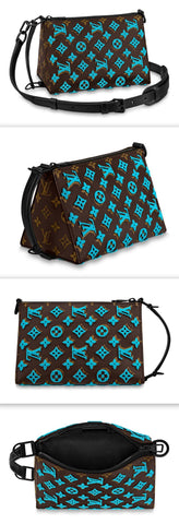 Triangle Messenger Bag