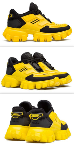 'Cloudbust' Thunder Sneakers, Yellow/Black