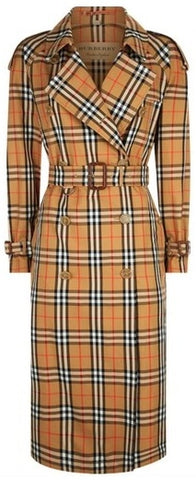 Eastheath Vintage Check/Plaid Coat | DESIGNER INSPIRED FASHIONS