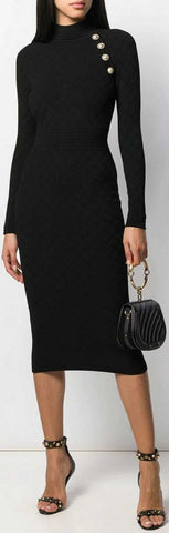 Knitted Midi Dress | DESIGNER INSPIRED FASHIONS