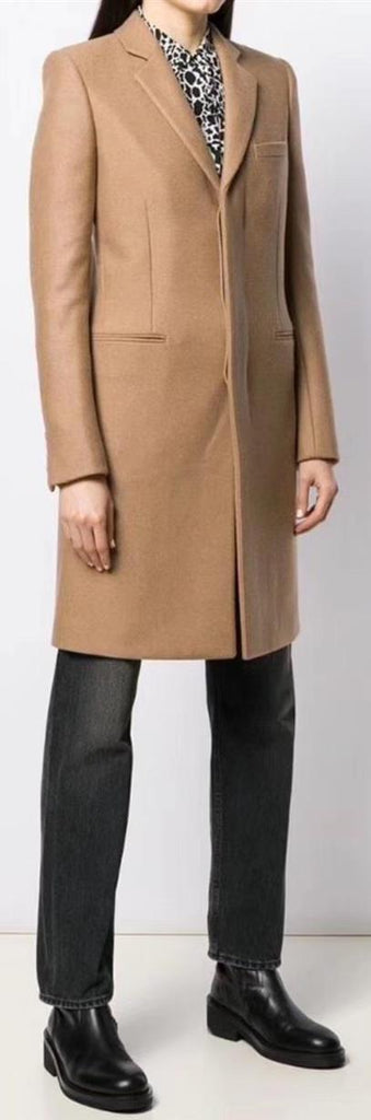 'Abrigo' Camel Wool Coat | DESIGNER INSPIRED FASHIONS