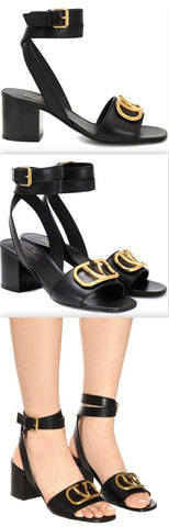 Go Logo Leather Sandals | DESIGNER INSPIRED FASHIONS
