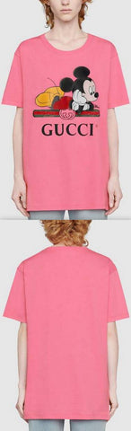 Disney X T-Shirt, Pink | DESIGNER INSPIRED FASHIONS