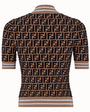 FF Logo Prints on Viscose Sweater | DESIGNER INSPIRED FASHIONS