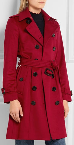 'The Sandringham' Wool Trench Coat - DESIGNER INSPIRED FASHIONS