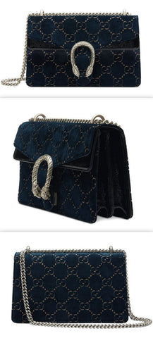 Dionysus GG Velvet Small Shoulder Bag | DESIGNER INSPIRED FASHIONS