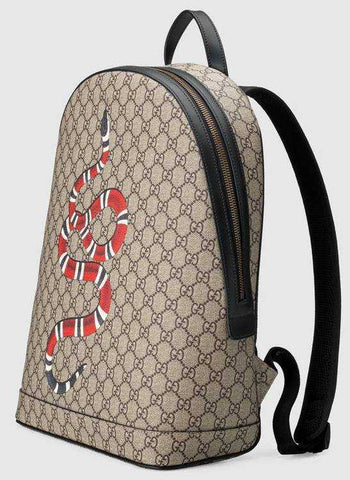 2ff0c855269 Kingsnake Print GG Supreme Backpack – DESIGNER INSPIRED FASHIONS