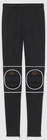 Technical Jersey Leggings with Knee Pads
