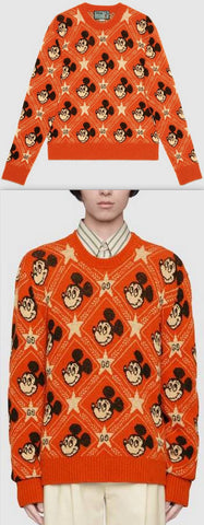 Disney X Wool Sweater | DESIGNER INSPIRED FASHIONS
