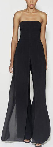 Strapless Jumpsuit, Black | DESIGNER INSPIRED FASHIONS