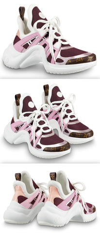 'Archlight' Sneakers, Pink
