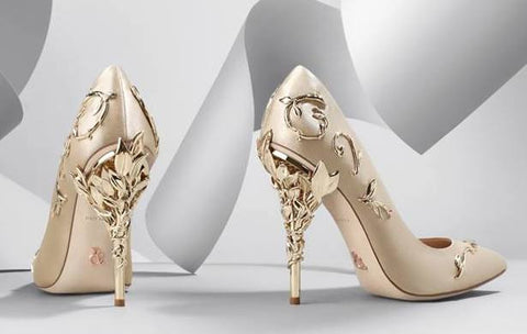 9f6ad6d786e51 ...  Eden  Pumps with Metal Leaves