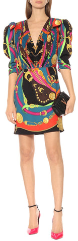 Barocco Rodeo Printed Mini Dress | DESIGNER INSPIRED FASHIONS