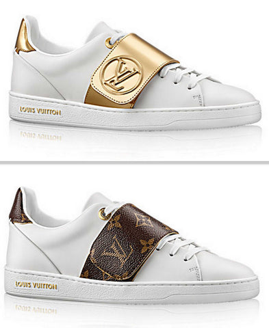 'Frontrow' Sneaker - Gold or Monogram - DESIGNER INSPIRED FASHIONS