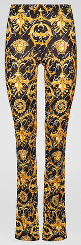 Barocco Signature Print Pants | DESIGNER INSPIRED FASHIONS