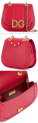 Amore Bag in Calfskin, Red | DESIGNER INSPIRED FASHIONS