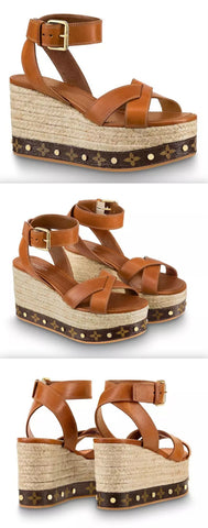 'Time Lapse' Wedge Sandals