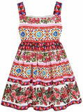 'Mambo' Print Sundress - DESIGNER INSPIRED FASHIONS