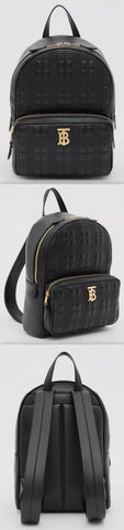 Quilted Check Lambskin Backpack | DESIGNER INSPIRED FASHIONS