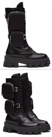 Monolith Leather Boots | DESIGNER INSPIRED FASHIONS