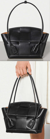 'Arco' 33 Bag in French Calf, Black | DESIGNER INSPIRED FASHIONS
