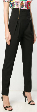 High Waist Tapered Trousers | DESIGNER INSPIRED FASHIONS