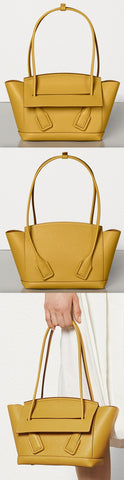 'Arco' 33 Bag in Palmellato, Butterscotch | DESIGNER INSPIRED FASHIONS