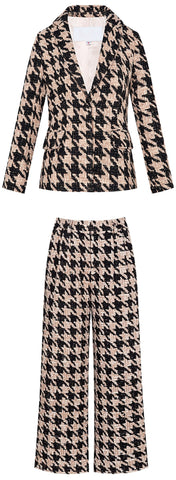 Houndstooth Suit | DESIGNER INSPIRED FASHIONS