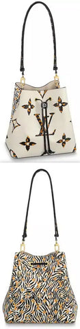 NéoNoé MM Bucket Bag, Ivory | DESIGNER INSPIRED FASHIONS