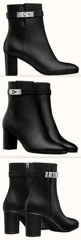 'Saint Germain' Leather Ankle Boots | DESIGNER INSPIRED FASHIONS