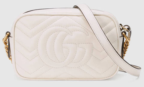7a7ebe80fd9 ... GG Marmont Matelassé Mini Bag - Red or White - DESIGNER INSPIRED  FASHIONS ...