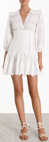 'Honor' Corset Lace Short Dress | DESIGNER INSPIRED FASHIONS