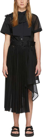 Black Organza Dress