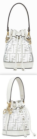 'Mon Tresor' Pu Mini Bag, White