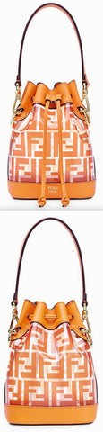 'Mon Tresor' Pu Mini Bag, Orange