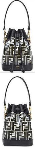 'Mon Tresor' Pu Mini Bag, Black | DESIGNER INSPIRED FASHIONS
