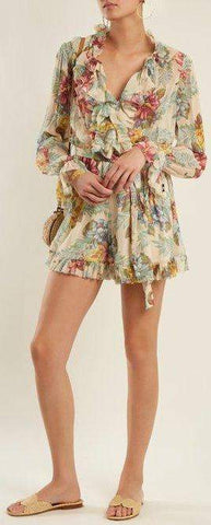 'Kali' Floral Playsuit